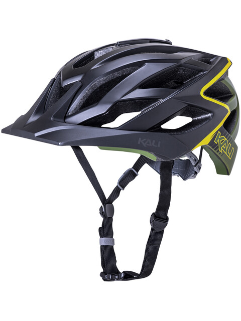 Kali Lunati Helm matt schwarz/oliv